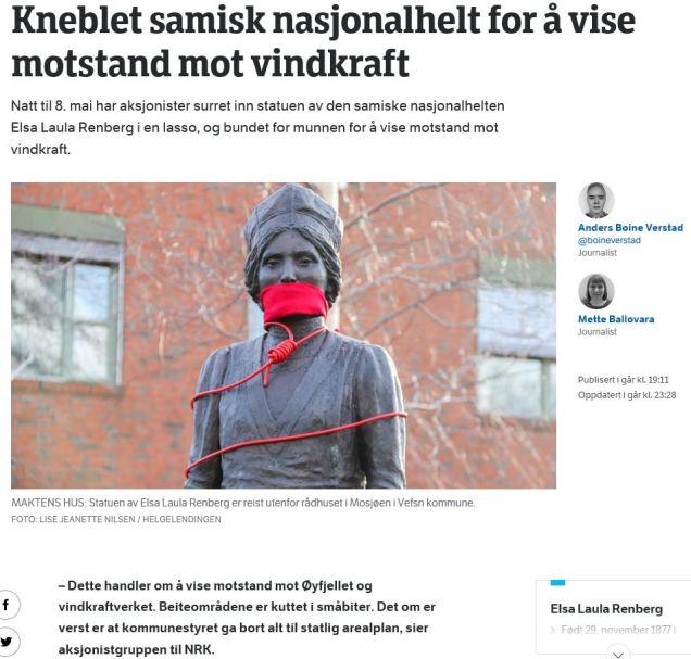 Elsa Laula, NRKSapmi, 08.05.2020